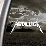 Rockband-Aufkleber, Motiv Metallica, für Pkw/Lkw/Stoßstange/Fenster