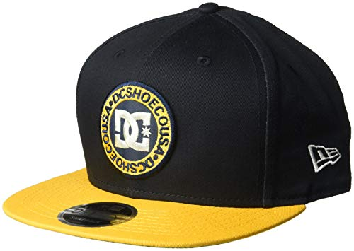DC Shoes x New Era Men's Speedeater Snapback Hat Dark Indigo Blue