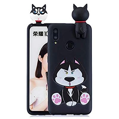 Compatible With Huawei P Smart 2019/Honor 10 Lite Phone Case 3D Painted Cartoon Soft TPU Silicone Cover for Girls Kids Anti Slip Shockproof Cover Rubber Design Anti-Scratch