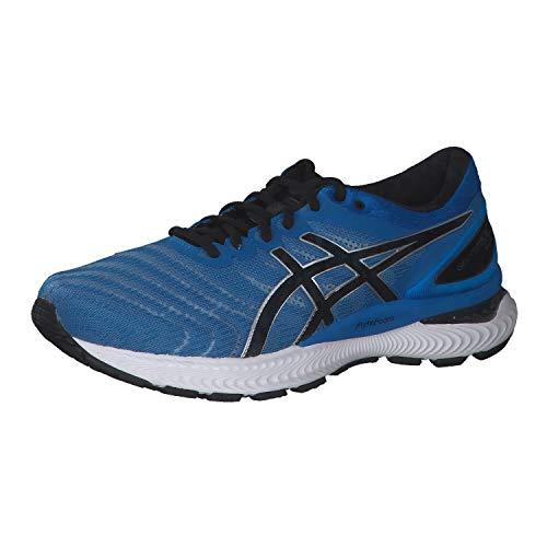 Asics Gel-Nimbus 22, Zapatos para Correr Hombre, Directoire Blue Black, 43.5 EU