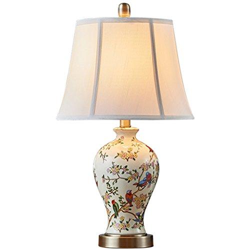 Ali@ Amerikanischen Keramik Schlafzimmer Bettdecke chinesischen modernen minimalistischen europäischen Tischlampe kreativen warmen Wohnzimmer