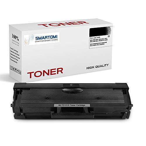 SMARTOMI - 1 cartucho de tóner negro MLT-D101S compatible con cartuchos Samsung MLTD101S ELS D101S para impresoras Samsung Xpress ML2160 2161 2166W 2162 2164 2165 2167 2168 ML-1661 1673 1678 1860 1861