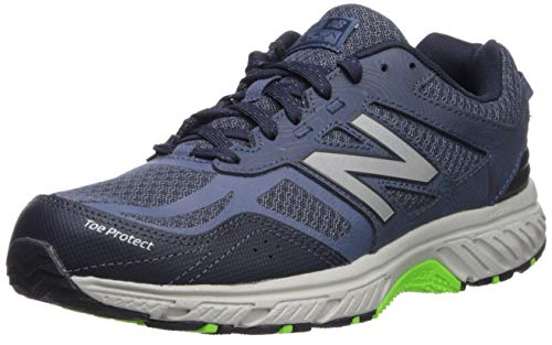 New Balance Men's 510 V4 Trail Running Shoe, NORTH SEA/RGB GREEN, 10 D US