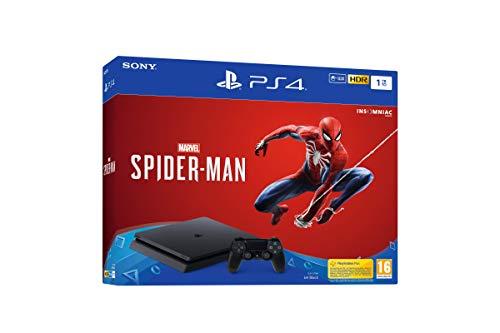 PlayStation 4 (PS4) - Consola de 1 TB + Marvel's...