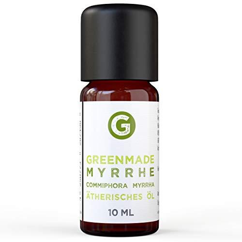Myrrhe Öl - 100% naturreines, ätherisches Öl (10ml) von greenstyle