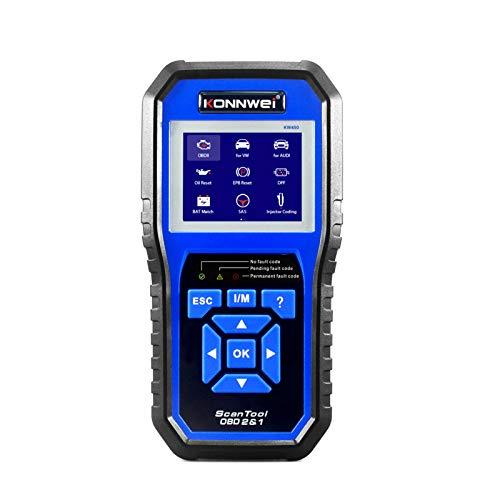 KKmoon Scanner OBD2, OBDII Lector de Códigos de Escáner, Maquina Diagnosis Multimarca...