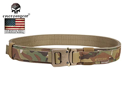 Paystore 100 cm: New Arrival Emerson coperchio 3,8 cm Shooter cintura militare esercito cintura vita supporto Airsoft Tactical Belt Multicam EM9250 m l XL