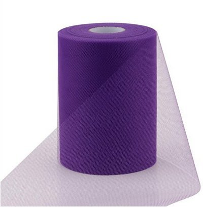 ASIBT 6 Inch x 100 Yards Tulle Roll Spool Fabric...
