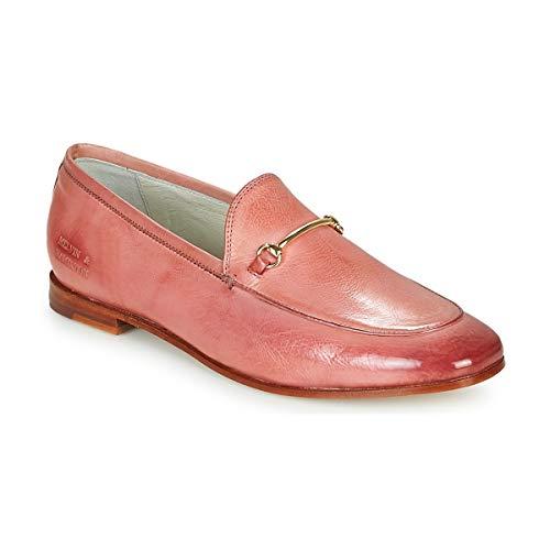 Melvin & Hamilton Scarlett 22 Slipper & Bootsschuhe Damen Cognac - 36 - Slipper Shoes