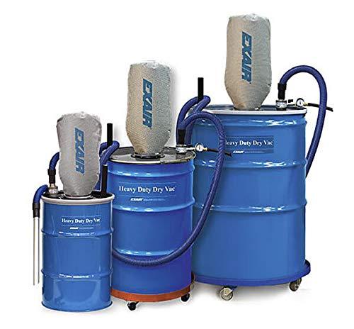 Sistema de alto rendimiento Dry Vac Heavy Duty, para 112 litros de barril (barril no incluido).