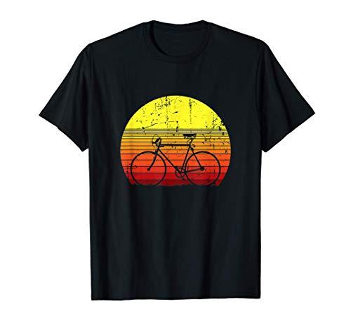 Vintage Rennrad Radfahrer Geschenk Fahrrad Radsport T-Shirt
