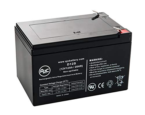 E-Scooter 12V 12Ah Electric Scooter Battery - This is an AJC Brand Replacement