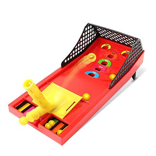 Floridivy Portable Table Top Shoot Ball Game Pull richten en schieten Arcade Board Game voor vanaf 5 jaar