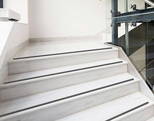 Kara.Grip 15 Stk Anti Rutsch Streifen + schwarz + Treppe ca. 50 cm x 3 cm