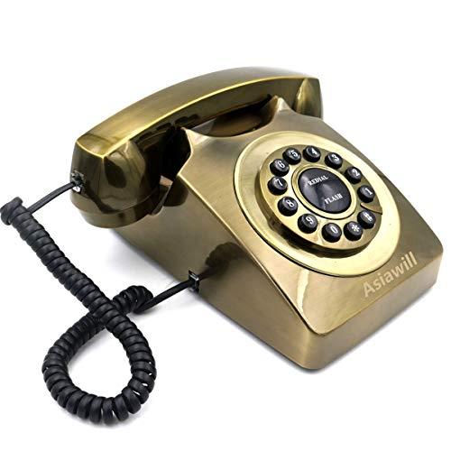 Gpo 746 teléfono-Estilo Retro y teléfono de escritorio con funciona totalmente Rotary Dial-Marfil