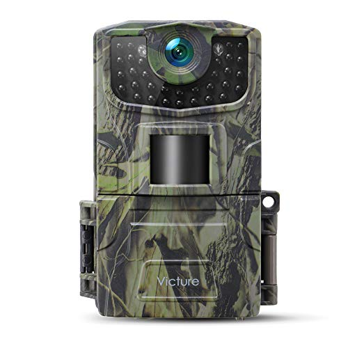 Victure【2021 Upgrade】Wildlife camera 20MP 1080P FHD Night Vision Motion Activated...