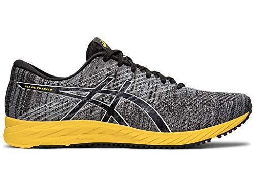 ASICS Men's Gel-DS Trainer 24 Running Shoes, 9.5M, Black/TAI-CHI Yellow
