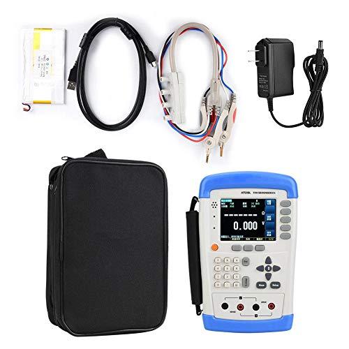 AT518L DC Digital Handheld Resistance Tester Meter TFT LCD Ohmmeter for Electrical Testing, 10μΩ~200KΩ 100-240V (US Plug)