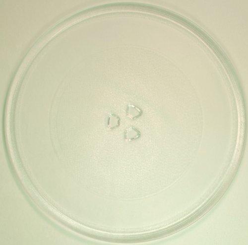 Mikrowellenteller / Drehteller / Glasteller für Mikrowelle # ersetzt TCM Mikrowellenteller # Durchmesser Ø 32,4 cm / 324 mm # Ersatzteller # Ersatzteil für die Mikrowelle # Ersatz-Drehteller # OHNE Drehring # OHNE Drehkreuz # OHNE Mitnehmer