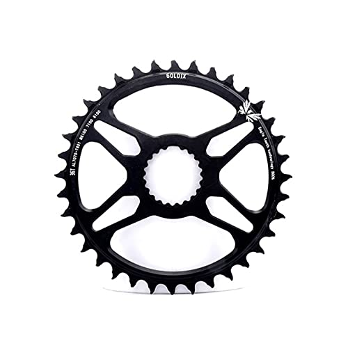 MENGGOO 32T 34T 36T 38T 40T Cainado de Bicicleta MTB Cadena de Bicicleta de Ancho Estrecha para Deore XT M7100 M8100 M9100 12S CISTA (Color : 36T)