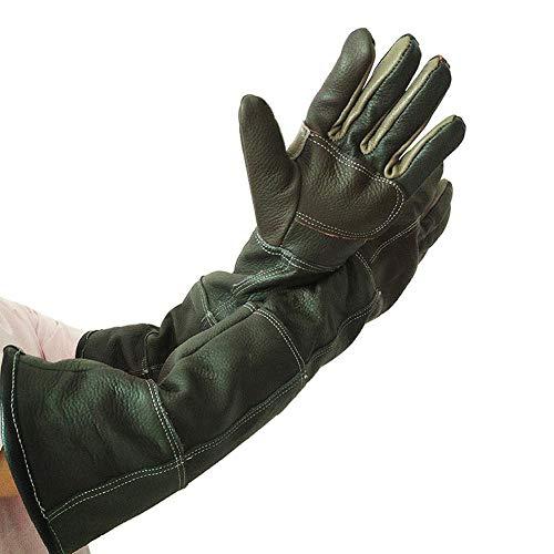Haustier-Handschuhe, verstärktes Leder, bissfest, langlebig, Schutzhandschuhe für Katzen, Hunde und Gartenarbeit