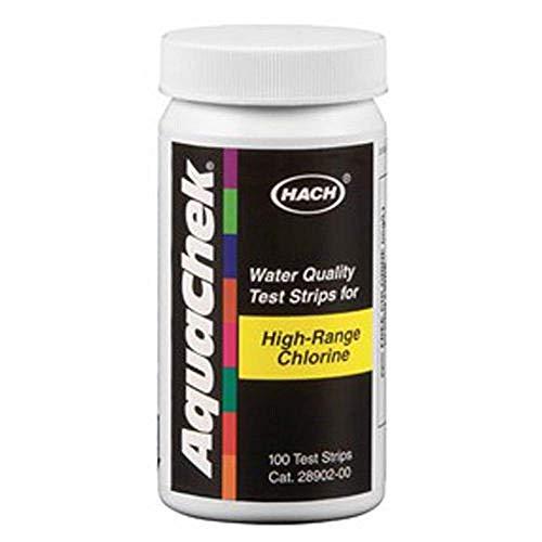 AquaChek 652013 Aquachek Haute Gamme Strips Chlore Test