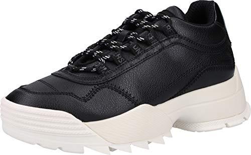 Replay Detays, Zapatillas para Mujer, Negro (Black 3), 40 EU