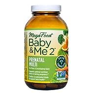 Baby and Me 2 Natural pregnancy vitamins (herbal free)
