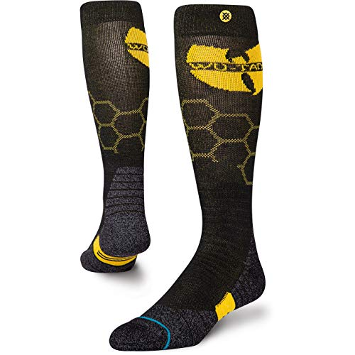 Stance Wu Tang Hive Snow Socks Medium Black
