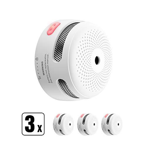 petit un compact Mini détecteur d'incendie X-Sense, 10 ans d'autonomie, détecteur de fumée certifié TÜV et…
