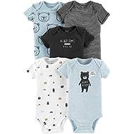 Carter's Baby Boys' Multi-pk Bodysuits 126g333