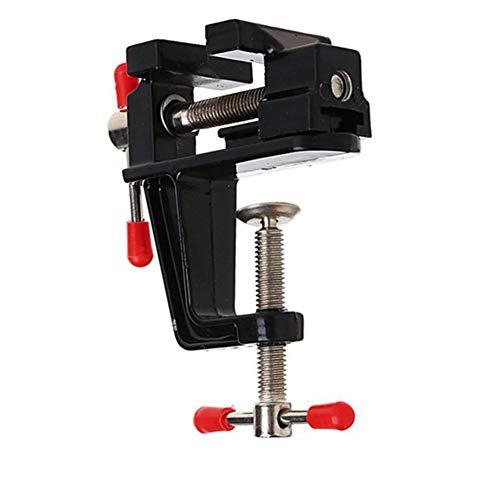 ZJJ Tabla de Vise de Mesa Universal de 40 mm Mini Visor de Banco, Herramientas de Prensa de Brocas multifunción para Trabajadores de carpintería y Reparaciones de Bricolaje