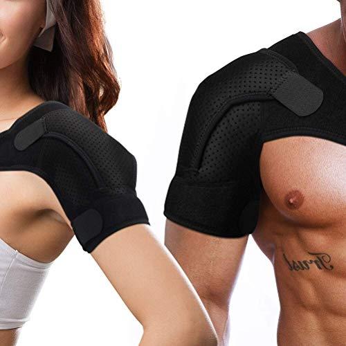 Schulterbandage,Schulterstütze,Verstellbare Schulterbandage Kompression Schulterschutz Schultergurt für AC-Gelenke, Sehnenentzündungen, Linke oder Rechte Schulter, Männer und Frauen