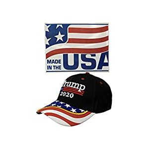 Made in USA Donald Trump Hat 2020 MAGA Keep America Great Camo Hat Adjustable Baseball Cap Hat