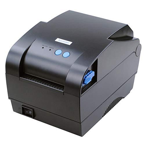 ZYJ Imprimer 80Mm Largeur Thermique Directe Étiquette De Code À Barres Imprimante Code À Barres QR Code Imprimante avec Cutter Auto Support Windows Mac Système