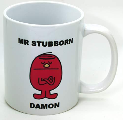 Personalised Mr Stubborn Mug