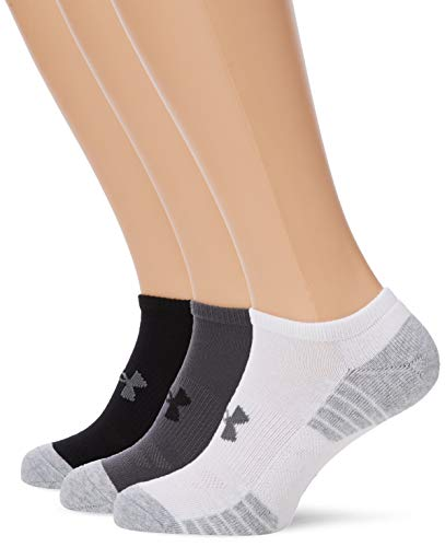 Under Armour UA Heatgear Tech Noshow 3PK Calcetines, Unisex