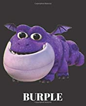 Burple: Dragons Rescue Riders Themed |7.5 x 9.25| Nifty Graph Paper Workbook | For Students, Teens, Kids, For School, College, Home, For Diary, Writing Notes