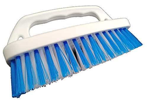 Cepillo Limpieza Manual con Cerdas Suaves | Limpia Tapicerías Coche Sofás Alfombras Baños Radiadores Suelos Baldosas Azulejos |Producto de Limpieza para el Hogar | Barredora Multiusos Jardín