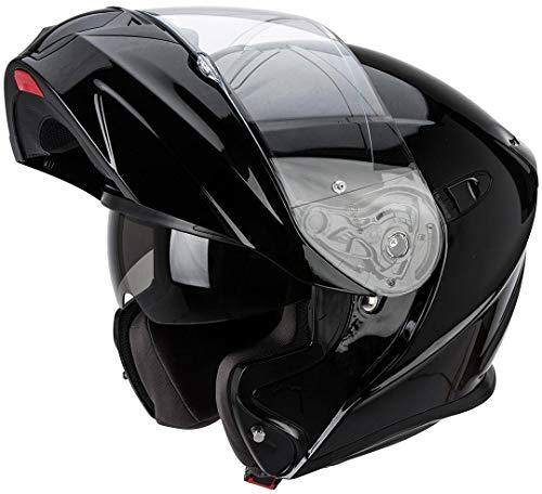 Scorpion EXO-920 Evo Solid 92-100-03-06 Casco Moto, Nero, XL