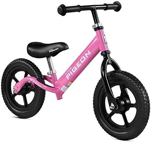 2021 Nuevo triciclo para niños Bicicleta de equilibrio ligera para niños de 2-3-6 años Marco de acero al carbono sin pedal Bicicleta de entrenamiento para caminar Triciclo de bebé Silla de empuje para
