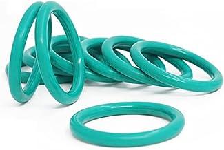 FKM Groene Fluor Rubber O-Ring, Hoge Temperatuur Bestand Afdichting O-Ring Assortiment Set, voor Lagers, Pompen, Wegrolle...