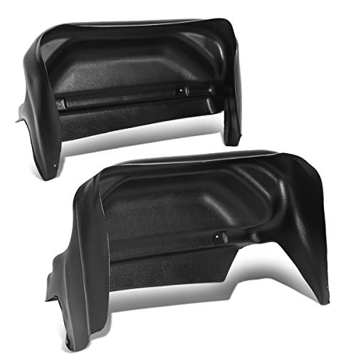 Rear Wheel Well Liner Guard Inner Fender Mud Flap Set for Chevy Silverado 1500 2500HD 14-19