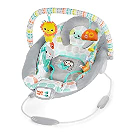 Bright Starts Cradling Bouncer Seat with Vibration & Melodies
