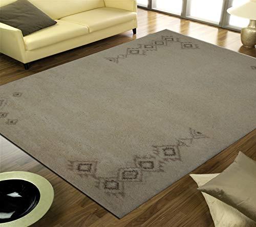TrendyLiving4U tapijt woonkamer laagpolig origineel Marokko-Berber handwerk 140x200cm