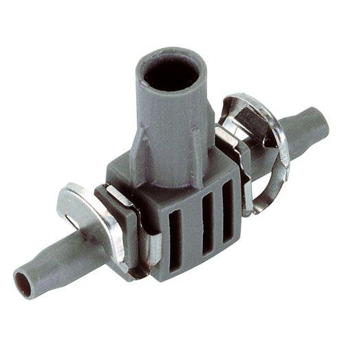 Gardena Micro-Drip-System T-Stück für Sprühdüsen, 4.6 mm (3/16 Zoll): Rohrverbindung für definierte Fixierung der Sprühdüsen im Verteilerrohr (8332-20)