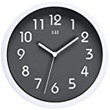 HITO Silent Wall Clock Non Ticking 10 inch Excellent Accurate Sweep...