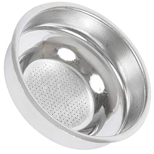 Spares2go - Filtro de una taza para cafetera espresso Zanussi ZCOF636X ZCOF637X