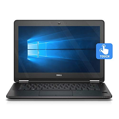 DELL LATITUDE E7270 12.5' TOUCHSCREEN LAPTOP INTEL CORE i7-6600U 6th GEN 2.6GHZ WEBCAM 8GB RAM 256GB SSD WINDOWS 10 PRO 64BIT