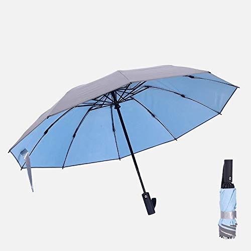 AIWKR opvouwbare paraplu, reisparaplu zonwering winddicht automatische draagbare lichtgewicht zon en regen paraplu's voor vrouwen en mannen
